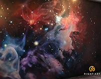 Аэрография. Роспись. Mural art/Airbrush