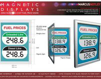 Energy Efficient Products - Magnetic Fuel Price Signs