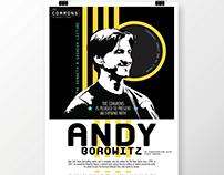 Andy Borowitz Event Poster