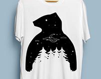 Sreen printing T-shirt design concept
