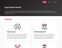 Personal Website - Made using Bulma