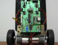 Attempt to build a mini segway with a gyroscope
