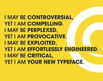 Typography - Avant Garde Poster