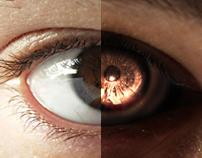 Pein Rinnegan Photo Manipulation - Before & After