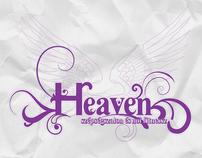 Heaven beauty-parlour branding