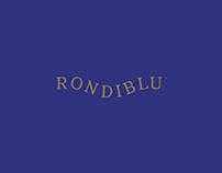 RONDIBLU™. Rest Company. Conceptual Branding.