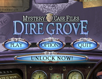iPad UI Design - Mystery Case Files: Dire Grove