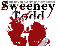 """Sweeney Todd"" Poster (Succop Theater)"