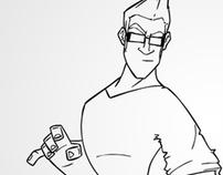 Cartoon Mick