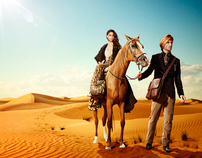 Saks Fifth Avenue Advertising campaign Dubai