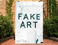Fake Art Poster