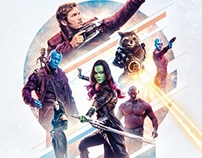 Guardians of the Galaxy Vol 2 alternative movie poster
