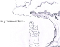 Under the greewood tree