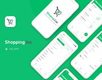 Shoping list App IOS