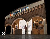 Novartis Booth Design