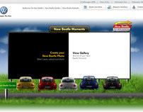 Volkswagen Beetles Moment Experience Site