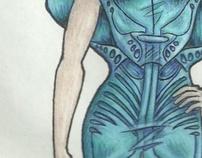 Fashion Illustrations Portfolio - Part 2 (In Progress)