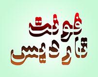Si47ash Tardis font [Latin & Persian, Arabic]