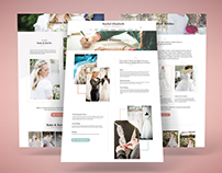 Website & Mobile Design for Wedding Dress Designer