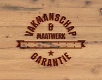 Logo + huisstijl de Vloerenspecialist Giessen