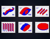 Stamps Yakov Chernikhov