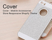 Cover  Mobile Accessories Shop Responsive Shopify Theme
