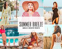 Free Summer Breeze Mobile & Desktop Lightroom Presets