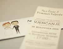 Pozivnica za vjenčanje // Wedding Invitation