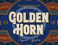 Golden Horn • Gently Typeface