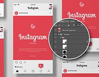 Free Instagram Post Mockup For 2020