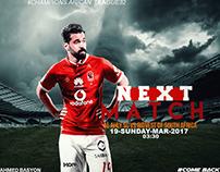 Next Match Al Ahly SC Vs Bidvest of South Africa Back M