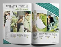 Something Blu Wedding Magazine
