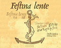 Aldus Manutius & Griffo Publishers Logo — Festina lente