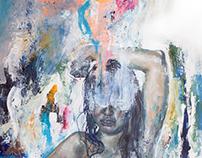 """""""Diamond"""", oil on canvas"""