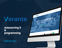 Verante - outsourcing IT & programming web design