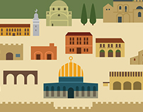 Jerusalem Travel Poster