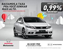 MOTOESTE | Honda Civic