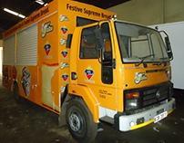 D.P.L Festive Bread Roadshow/Promotional Truck