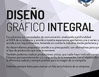 Servicio de diseño gráfico integral