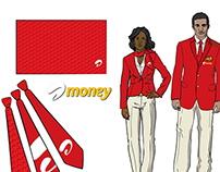 Proposed Airtel Money outfits