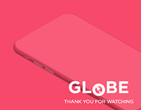Globe App. Mobile Interaction