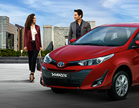 TOYOTA YARIS LAUNCH CAMPAIGN