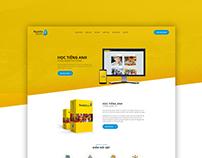 Rosetta Stone Vietnam - Landing page