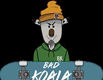 Bad Koala - Wine Bottle Design