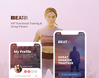 Group Workout UI/UX Design