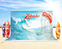 Zabado kite surfing event