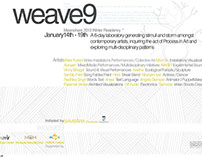 Weave 9 / Meanohara Art Residency - Delhi 2013