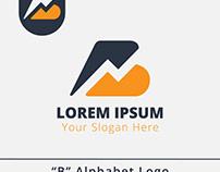 B Alphabet Logo Design Template