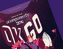 Poster: Geração Eleita | Acampamento OK GO!