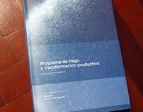 Riego y transformación productiva - Editorial